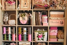 craft room / by Heidi Smith