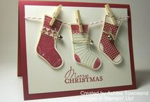 Stampin Up - Stocking cards
