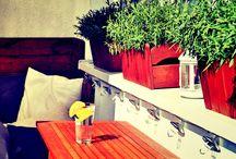 Aranżacje balkonów i tarasów
