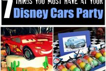 CARS themed birthday