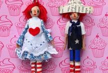 Clothspin Dolls / by Dawn Monroe