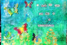 My own work - Art journaling