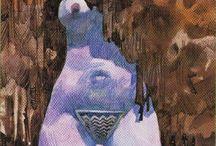 II The High Priestess Tarot Card / A selection of tarot cards and art that represent The High Priestess.