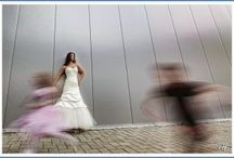 Interesting effects in wedding photos