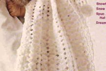 Baby Cape. Crocheted.