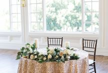 Wedding: signing table