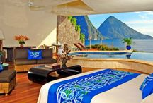 Hotelkamer uitzichten
