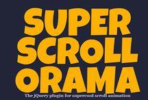 Parallax Scrolling websites