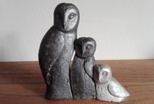 Tiere und Figuren aus Beton