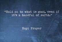 Hopi prayer