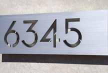 Water feature Plaque Ideas / Modern plaques