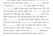 First Grade - TEXAS/TALL TALES / by Laura Smith