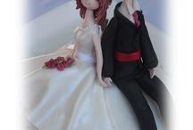 Fondant Bridal Couples