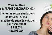Protocoles Dr.Suciu & Associés / Obtenez les recommandations de Dr.Suciu & Associés en matière de supplémentation pour seulement 8 euros (aprox.11.99 $ can) !
