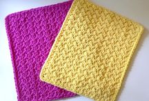 Crochet or Knit ~ Dishcloths / Washcloths / by Kari Schumacher