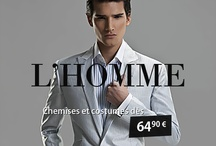 Costumes pour Homme / by Robes Paris