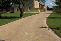 Driveway Paving Ideas / Are you looking to redesign your driveway? Take a look at our paved options and create your ideal driveway.   #driveway #design #paved #landscaping