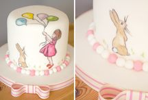 painted birthday cake ideas for Evie's fifth birthday
