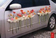 autódísz & virág