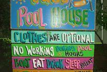 Pool Side stuff / by Kelly Wermelskirchen