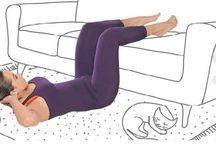 exercícios fáceis