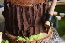 Cerynns tree wedding cake