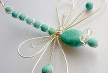 Jewelry: beaded figurines