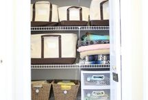 Linen Closet Organizing Ideas / by Christine Creed Hill