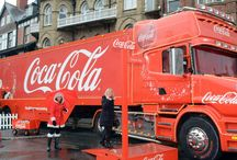 Coca Cola truck / Holidays are coming! The Coca Cola truck is coming to Colwyn Bay. The iconic red truck first appeared on TV screens in November 1995, and since then it's become a regular feature of festive TV schedules in more than 100 countries worldwide.
