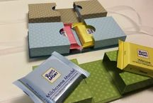Verpackungen, Schachteln, Give aways