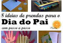 Dia do Pai - father day crafts / Ideias de prendas para o dia do Pai