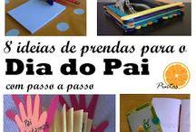 Dia do Pai - father day crafts / Ideias de prendas para o dia do Pai