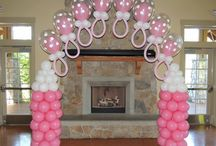 Baby Shower Balloons Deco
