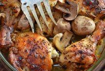 kurczak w musztardzie i miodzie