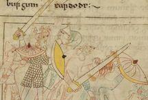 obrazki z średniowiecza