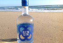 BCN GIN · Prior Barcelona Dry Gin / A new style of Gin is born. The elixir of mountain Priorat grapes. The purity of fresh cut Mediterranean botanicals. And the Barcelona life style !