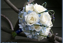 Blue Weddings / A variety of wedding, shower, party, and other special event ideas and decor in shades of blue (including light blue, royal, cobalt, aqua, turquoise, Tiffany, and teal). / by Something Floral™