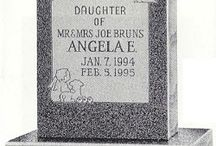 Infant Granite Monument Designs / Granite headstones from http://www.thecasketstore.com are fully custom designed. Talented graphic designers will create exactly the marker you want.