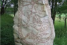 North Europe, Vikings, Rune stones, Laponia, Island