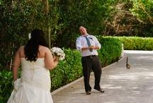 First look - Wedding Day / Riviera Maya Wedding