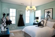 Room makeover / Tiffany themed room is what I'm going for