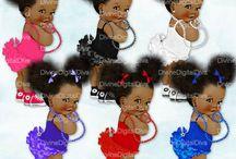 bebê afro