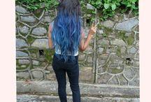 #blue hair