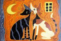 pinturas / gatos pintados