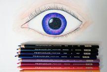 göz çizimleri