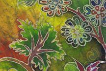 Batik designe / By Mine Aydoğan / My Batik Design
