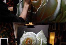 aprólékos festészet