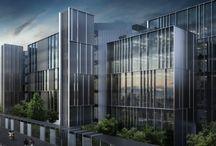 Fassaden Büro / Architektur fassaden