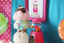 B'day cake decoration