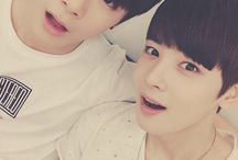 Astro <3 / Astro it's a Korean Boys Band. They're debut are song Hide&Seek <3 My bias is Moonbin